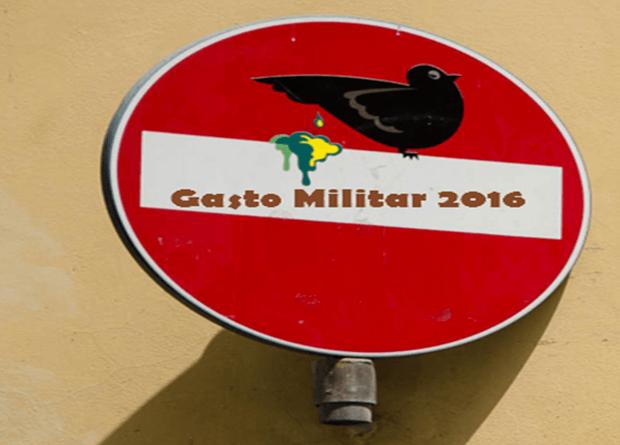 Nuevo informe sobre gasto militar 2016