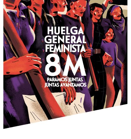 LA CNT CONVOCA HUELGA GENERAL FEMINISTA PARA EL 8 DE MARZO