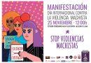 CNT CIUDAD REAL SE SUMA A LA MANIFESTACIÓN DEL 25N CONTRA LAS VIOLENCIAS MACHISTAS