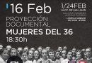 Proyección: «Mujeres del 36»
