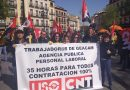 Crónica de la Concentración en Toledo de la sección sindical de CNT en Geacam